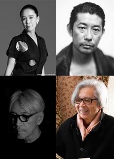 山田洋次監督、坂本龍一氏、河瀬直美氏、永瀬正敏氏